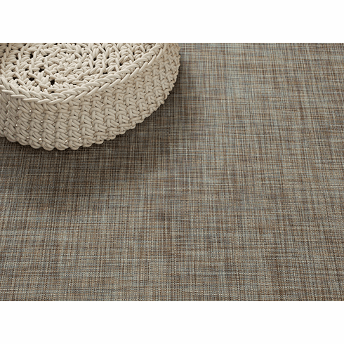 Chilewich Mini Basketweave FloorMat 30X106 Pistachio