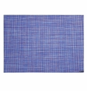 Chilewich Minibasket Table Mat 14X19 - Blueberry