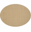 Chilewich Minibasket Table Mat Oval 14x19 - New Gold
