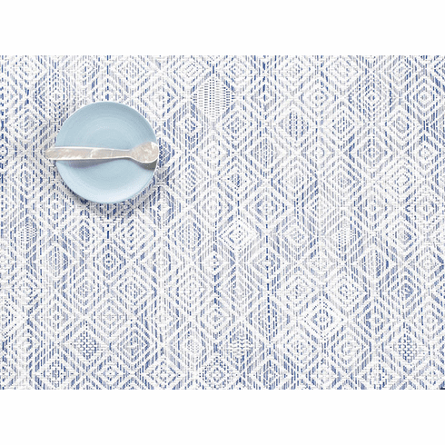 Chilewich Mosaic Placemat 14X19 Blue