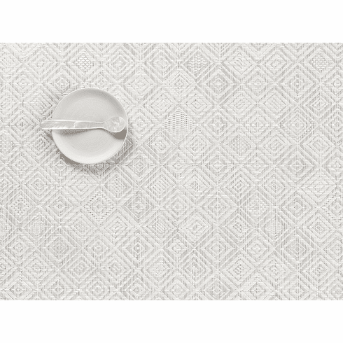 Chilewich Mosaic Placemat 14X19 Grey