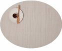 Chilewich Oval Chino Bamboo Placemat