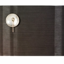 Chilewich Sable Tuxedo Stripe Rectangle Placemat