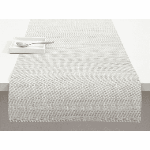Chilewich Wave Table Runner 14X72 Grey