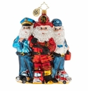 Christopher Radko 2019 St. Nick First Responders! Ornament