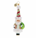 Christopher Radko A Candy Cane Surprise! Ornament