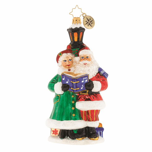 Christopher Radko A Couple of Carolers Ornament