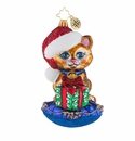 Christopher Radko A Little Coy Kitty! Ornament