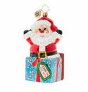 Christopher Radko A Warm Hug From Santa! Ornament