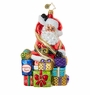 Christopher Radko All Wrapped Up Santa Ornament