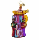 Christopher Radko All You Need is Love Tower Ornament