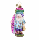 Christopher Radko Aloha Santa! Ornament