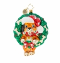 Christopher Radko Baby's First Puppy Love Ornament