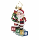 Christopher Radko Baby Steps Gem Ornament