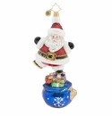 Christopher Radko Balancing Extraordinaire St. Nick! Ornament