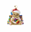 Christopher Radko Bearing Gifts Teddy Bear Ornament
