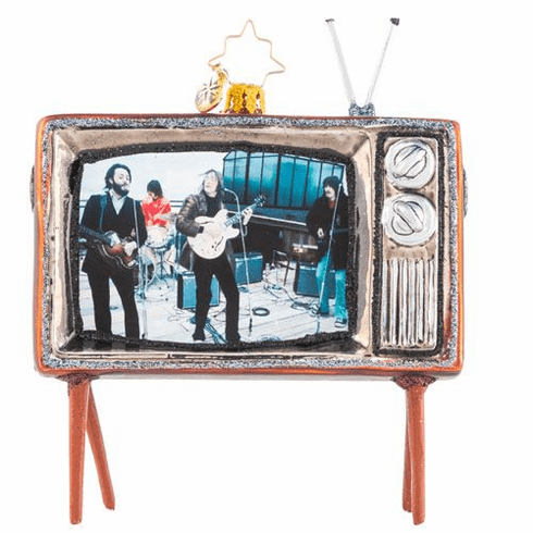 Christopher Radko Beatles Up on the Roof TV Ornament