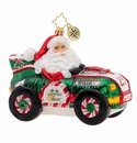 Christopher Radko Burning Rubber Racer! Ornament