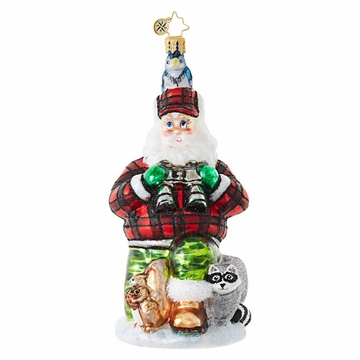 Christopher Radko Camouflage Kringle Ornament