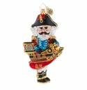 Christopher Radko Captain Cook Has Cracked Pirate Nutcracker Ornament