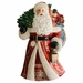 Christopher Radko Carrying the Magic Santa Claus with Christmas Tree Statue