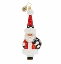 Christopher Radko Checkered for Success! Ornament