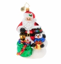Christopher Radko Christmas Delivery Duo Ornament