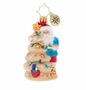 Christopher Radko Christmas In The Sand Gem Ornament
