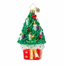 Christopher Radko Christmas Tree Gift Ornament