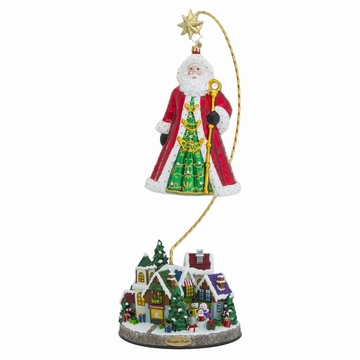 Christopher Radko Christmas Village Ornament Stand (Ornament Sold Separately)