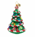 Christopher Radko Colorful Candy Christmas Tree Ornament