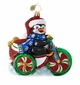 Christopher Radko Cool Tricycle! Penguin Ornament