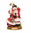 Christopher Radko Dance The Night Away! Santa & Mrs. Claus Ornament
