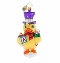 Christopher Radko Dapper Duckling Ornament