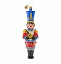Christopher Radko Dashing Drummer! Nutcracker Ornament