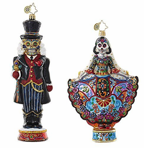 Christopher Radko Day of the Dead and Halloween Ornaments