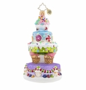 Christopher Radko Deliciously Delightful Cake Ornament