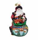 Christopher Radko Delightful Delivery Ornament