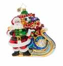 Christopher Radko Delivery on Its Way! Ornament