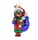 Christopher Radko Doggity Dachshund Ornament