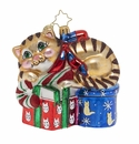 Christopher Radko Dreaming of Christmas, Kitten! Ornament