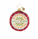 Christopher Radko Drum Roll Please! Sgt Pepper's Ornament