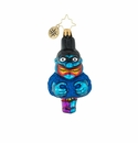 Christopher Radko Eenie Meanie Miney Mo Ornament - Blue Meanie