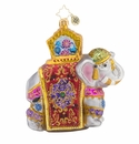 Christopher Radko Elephant Christmas Parade Ornament