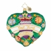 Christopher Radko Evergreen Is My Heart Ornament - Our First Christmas 2018