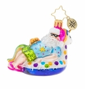 Christopher Radko Floating Through The Holidays Gem Ornament