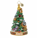 Christopher Radko Forest Friends Decorating Party Christmas Tree Ornament