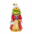 Christopher Radko Frog Princess Ornament
