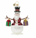 Christopher Radko Frosty Bearing Gifts! Ornament
