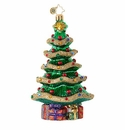 Christopher Radko Garland Christmas Tree Ornament